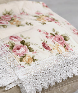 Antique Rose Shawl