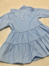 Load image into Gallery viewer, Baby Blue High-neck Dress