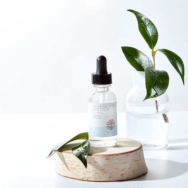 ENCOURAGE . Botanical Root Hyaluronic Acid Serum