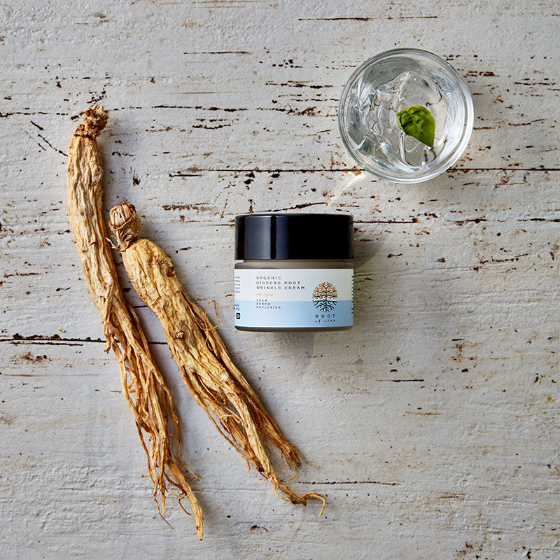 ETERNAL . Organic Ginseng Root Wrinkle Cream