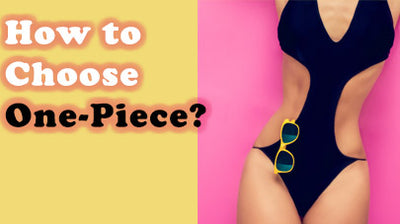 How to choose One-piece Bathing Suit when there is such a large variety?