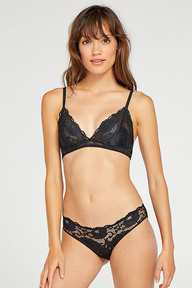 Sexy Black Lace Lingerie Set 2019