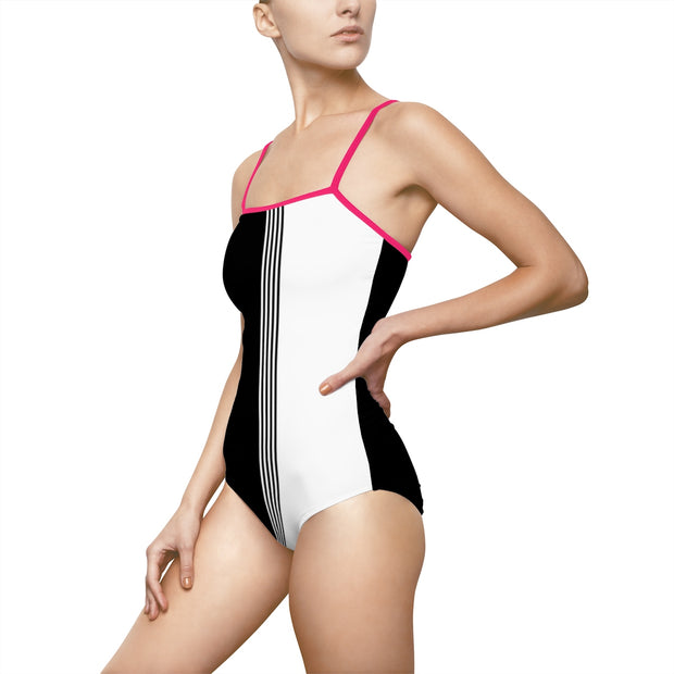 One-piece Swimsuit B&W
