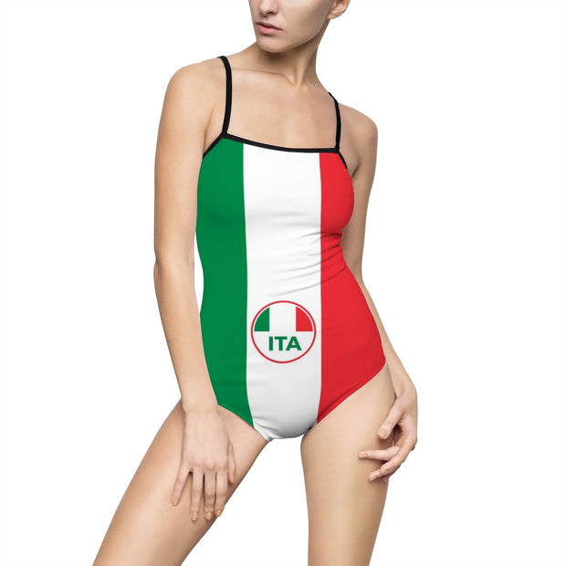 Women's One-piece Swimsuit Italy