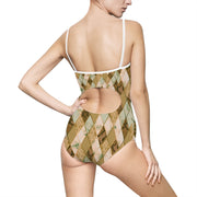 Snakeskin Woman One-piece Swimsuit