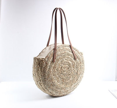 Moroccan Palm Hand Bag