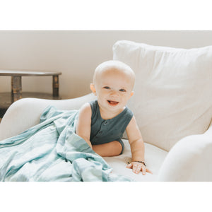 Swaddle Blanket - Waves