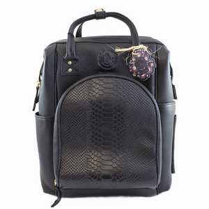 naandi - The Mommy Bag - Negro Python