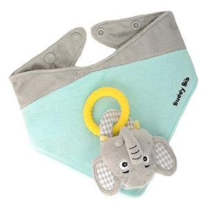 Malarky Kids - The Buddy Bib 3-in-1 Bib Elefante
