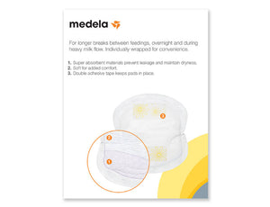 Medela - Parches Desechables Lactancia 60pzs