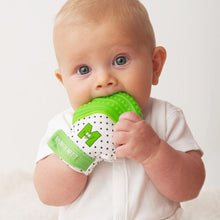 Malarkey Kids - Munch Mitt Baby Teething Mitten Verde