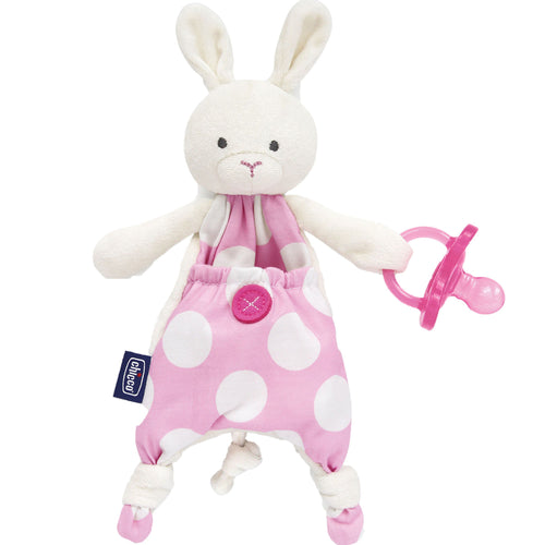 Chicco - Guarda Chupon Pocket Friend Rabbit