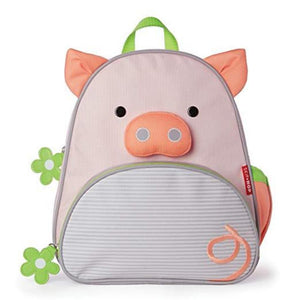 Zoo Insulated Toddler Backpack Pig