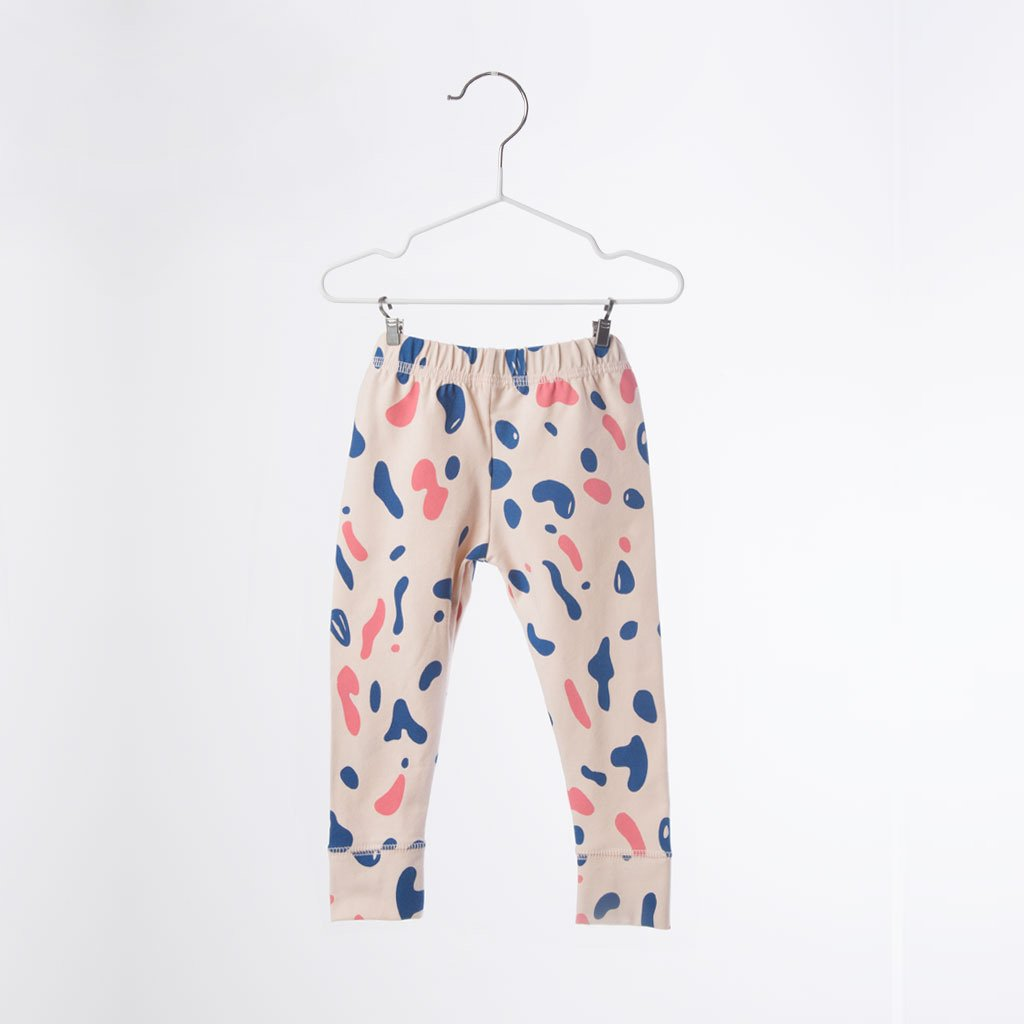 veoveo Grey Coral/Pink  leggings