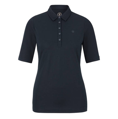Bogner Tammy dames polo blauw - Damplein 9 SKI & Fashion
