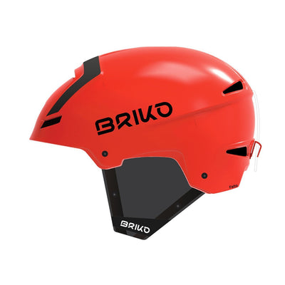 Briko Faito Fluid Inside matt orange/black Skihelm - Damplein 9 SKI & Fashion