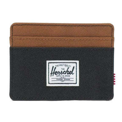Herschel Charlie wallet peacoat/saddle brown - Damplein 9 SKI & Fashion