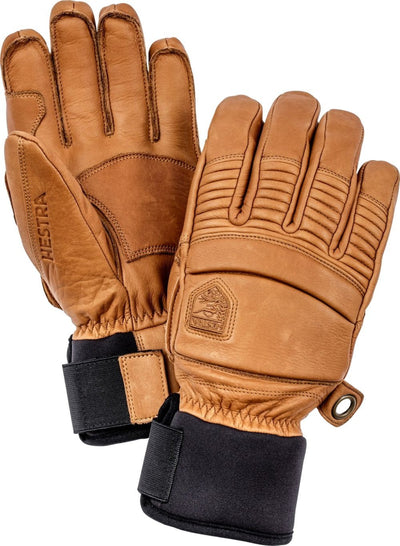 Hestra Leather Fall Line handschoen lichtbruin - Damplein 9 SKI & Fashion