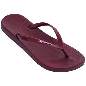 Ipanema Anatomic colors dames slippers burgundy - Damplein 9 SKI & Fashion