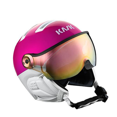 Kask Class Sport Visor skihelm Rose/Wit - Damplein 9 SKI & Fashion