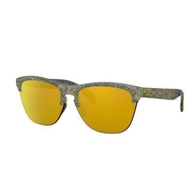 Oakley Frogskins Lite metallic splatter collection - 24K iridium - Damplein 9 SKI & Fashion