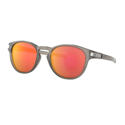 Oakley Latch matte grey INK - ruby iridium - Damplein 9 SKI & Fashion