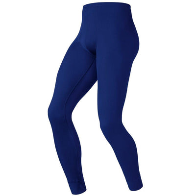 Odlo Evolution warm heren thermobroek blauw - Damplein 9 SKI & Fashion