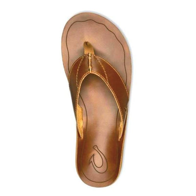 Olukai Nohona 'lli heren slippers Tan - Damplein 9 SKI & Fashion