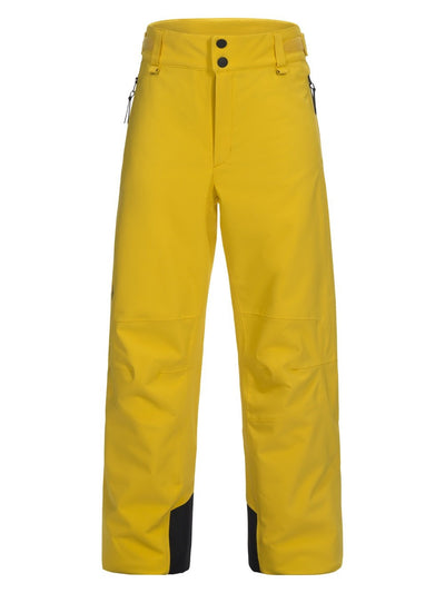Peak Performance junior padded Maroon skibroek desert yellow - Damplein 9 SKI & Fashion