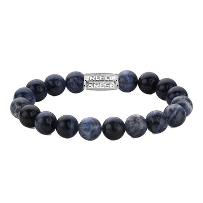 Rebel & Rose armband - Midnight Blue 10mm - Damplein 9 SKI & Fashion