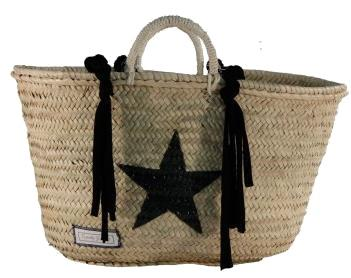 Twenty Violets strandtas special top black star - Damplein 9 SKI & Fashion