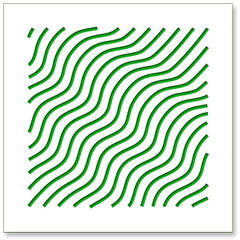 Waves green