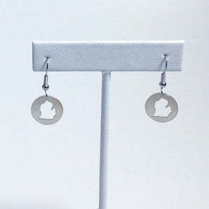 Michigan Earrings - Sterling Silver