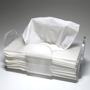 Handmade Tissue Cradle. Fits Any Decor.