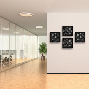 3d Wall Squares: Windows