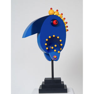 """Ballzy Bird"" Wood Sculpture"