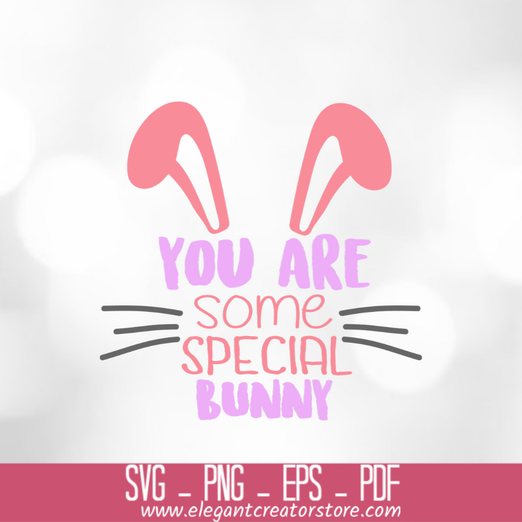 YOU ARE SOME SPECIAL BUNNY SVG