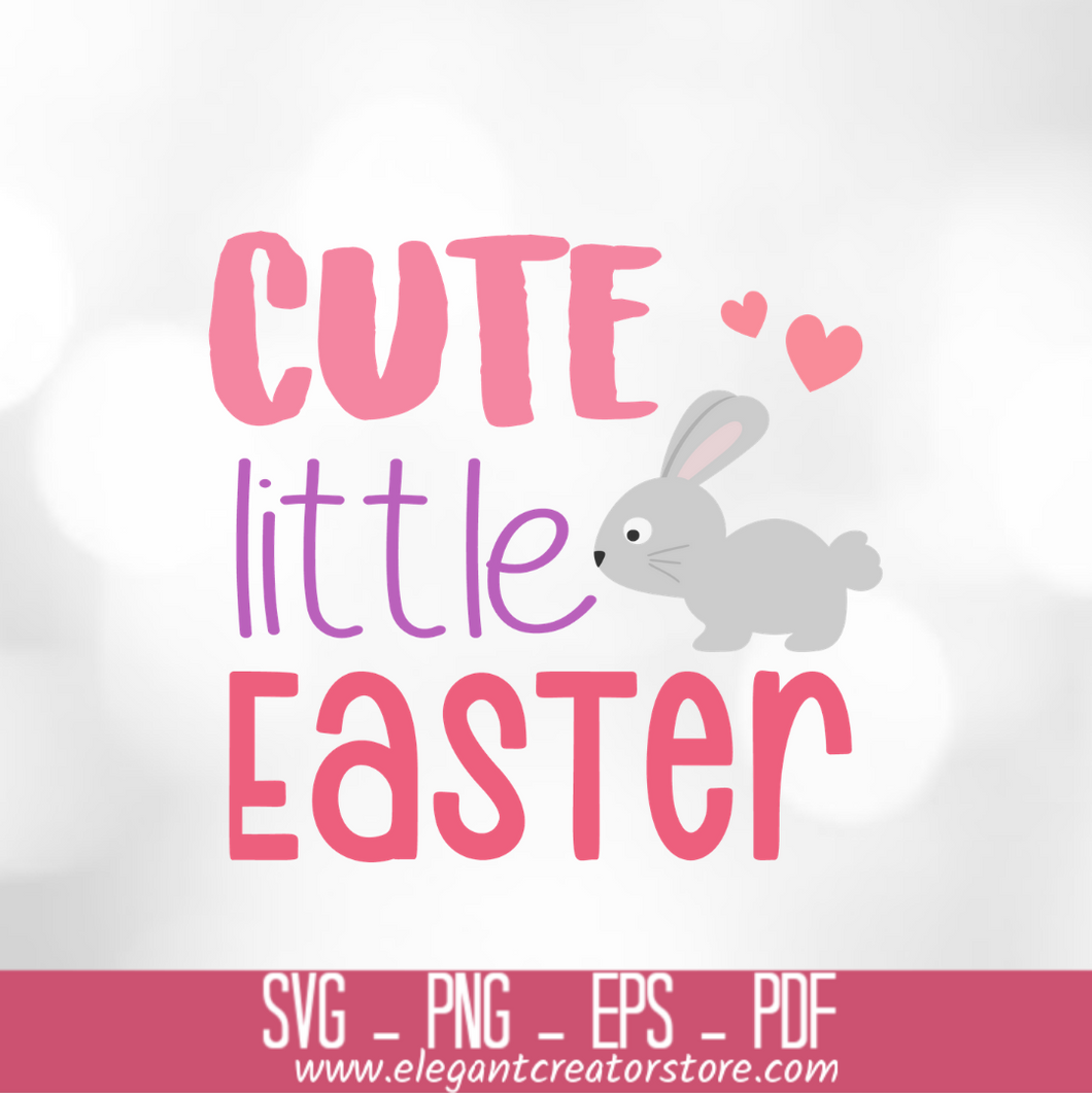 CUTE LITTLE BUNNY SVG
