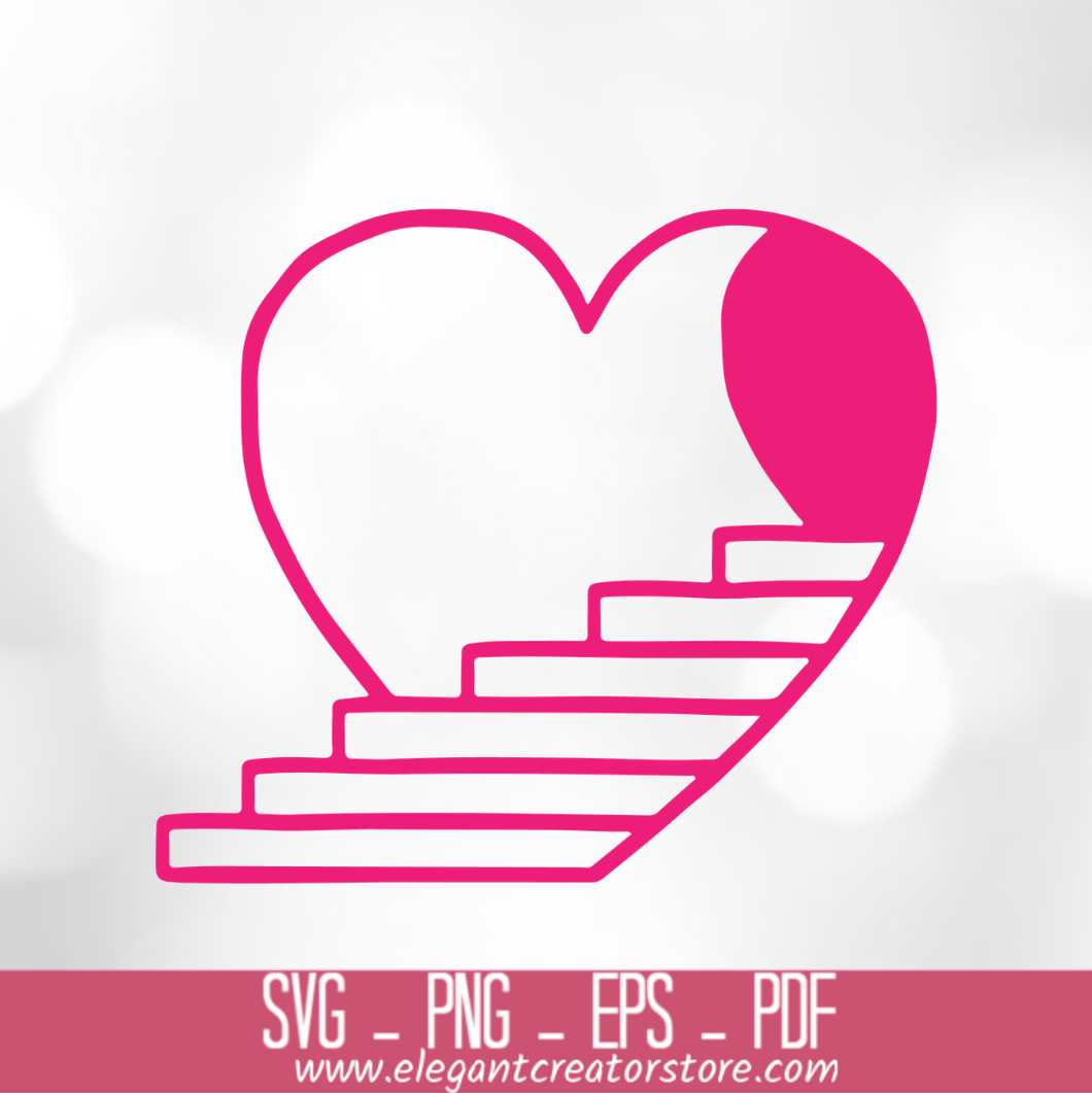heart to heaven SVG