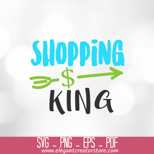 Shopping king SVG