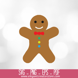 christmas cookie SVG