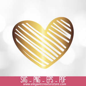 Love Sketch Heart Drawing SVG