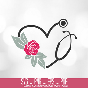 Stethoscope Svg Cut File for Cricut SVG