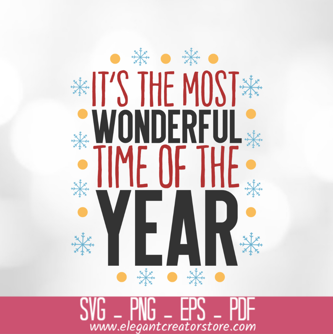 it_s the most wonderful time of the year SVG