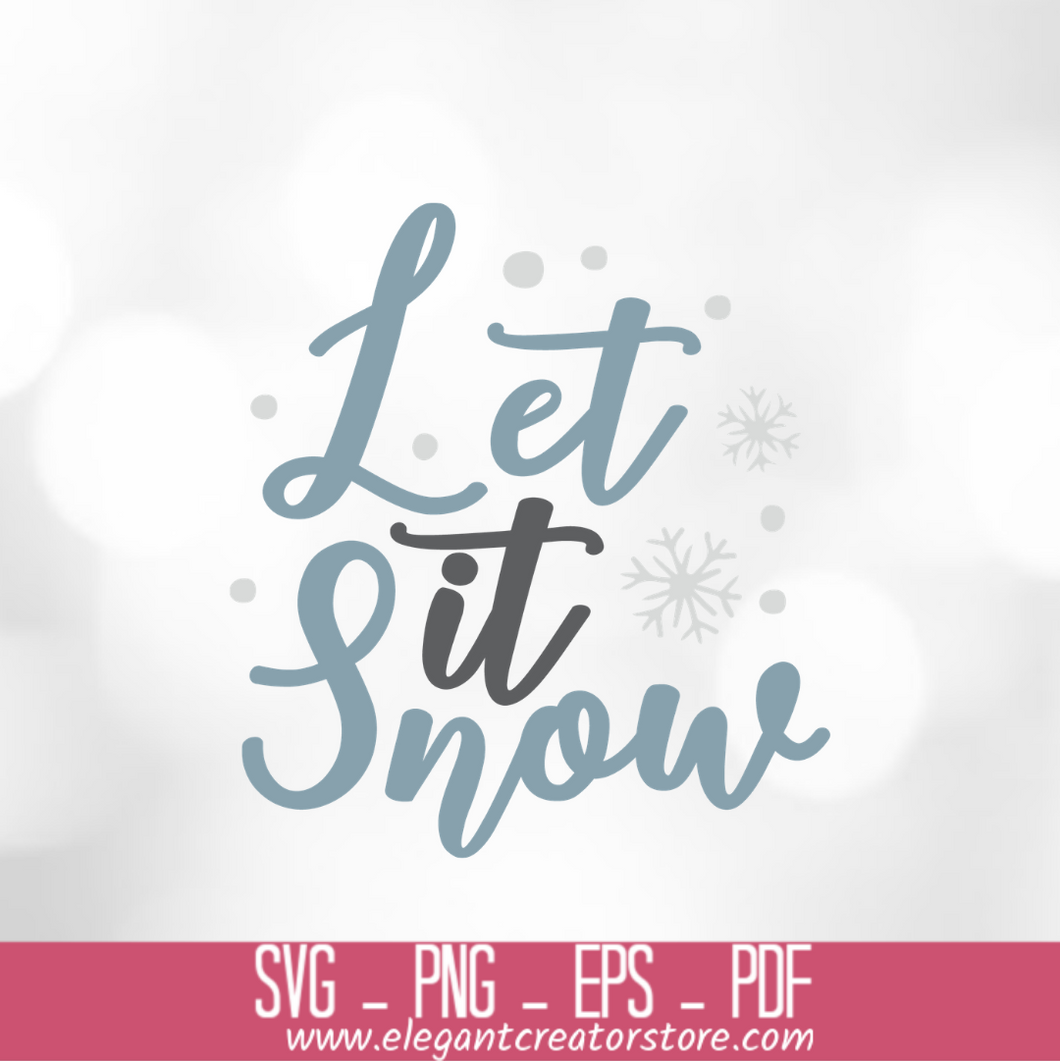 let it snow 2 SVG