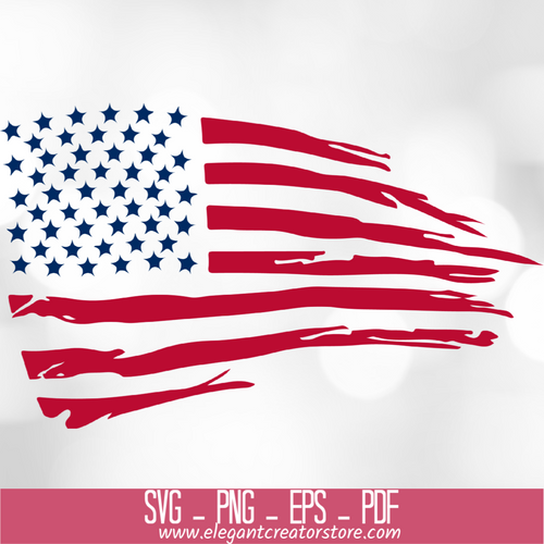 USA FLAG 3 SVG