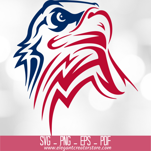 4th of July Eagle SVG
