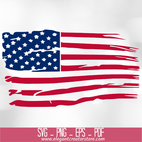 USA FLAG SVG