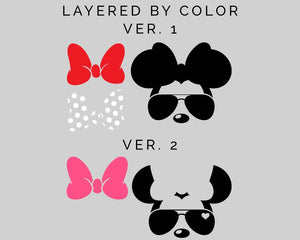 Mickey & Minnie Mouse/ Disney Castle Bundle  50 SVG Files 91% OFF