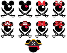 Load image into Gallery viewer, Mickey & Minnie Mouse/ Disney Castle Bundle  50 SVG Files 91% OFF